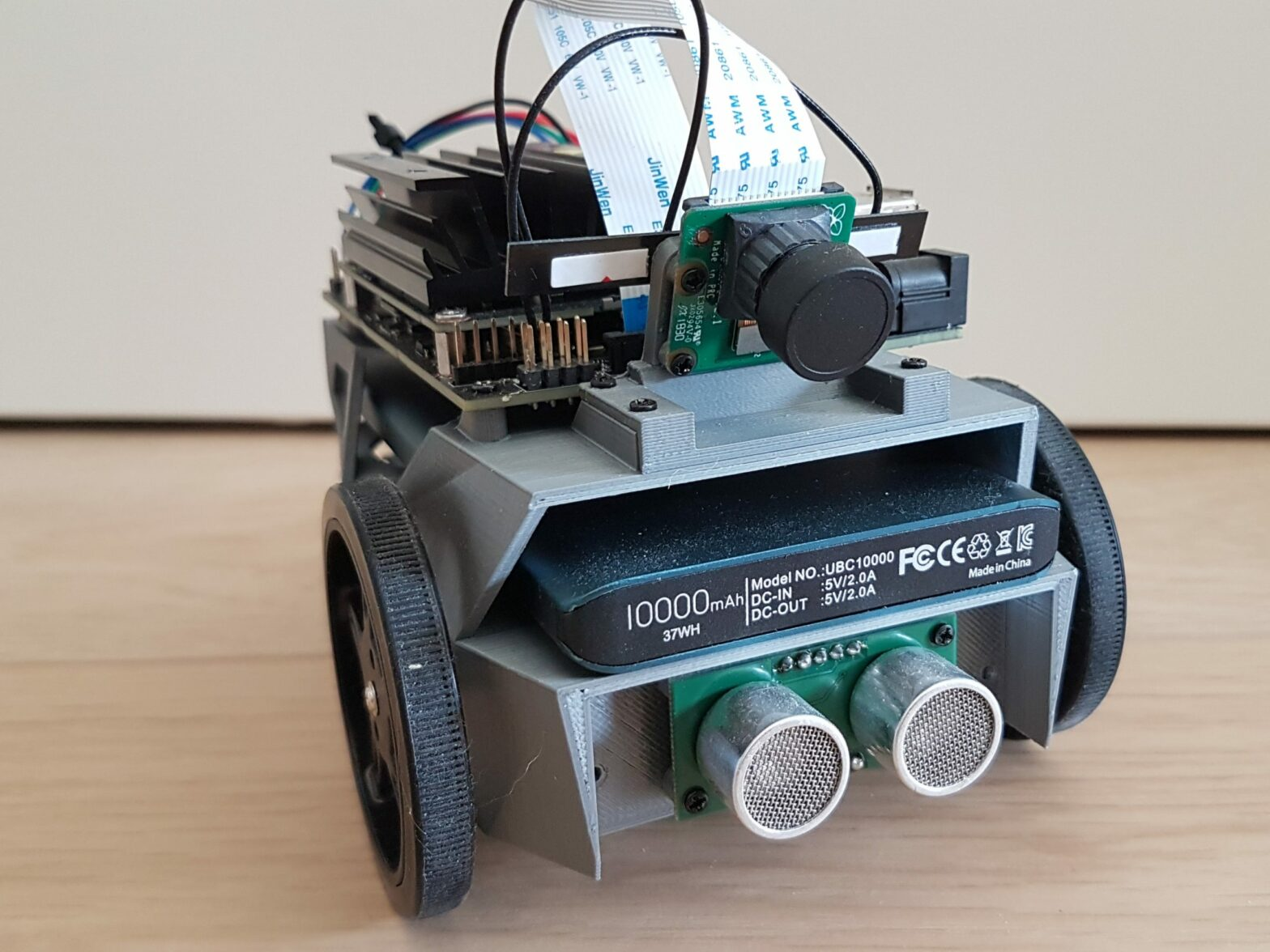 Jetbot with Ultrasonic Sensor